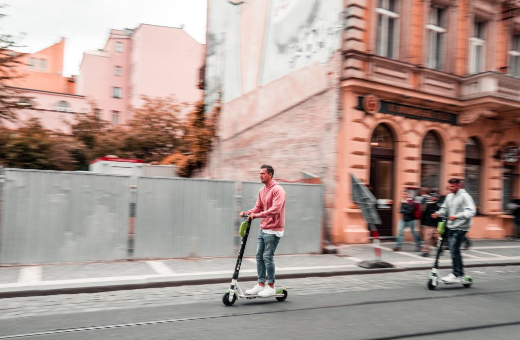 Electric Scooters and Other PMVs Have Become Popular in the Streets